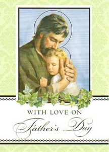 Father's Day Masses and Enrollment Cards