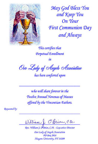 Mass Folders – Our Lady of Angels Association